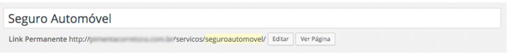 Otimizar URL