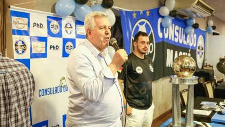Marco José Bobsin, vice-presidente do Grêmio