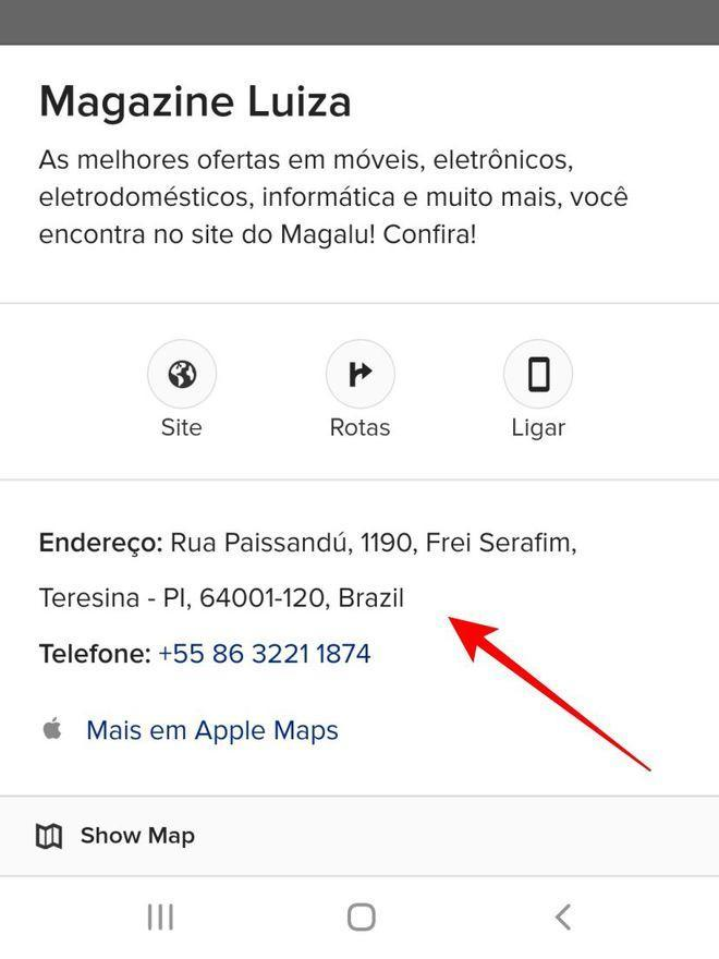 Anotes as informações que considera essenciais antes de buscar a rota - Captura de tela: Thiago Furquim (Canaltech)